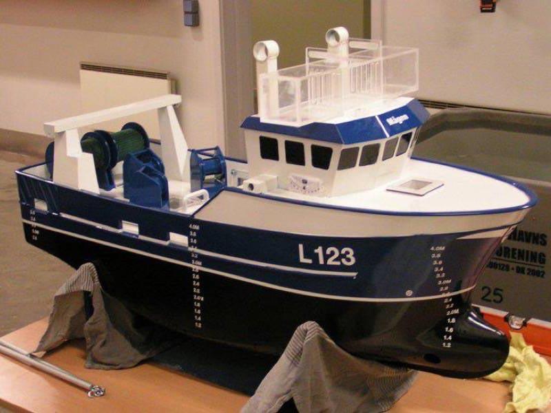 Modellskib